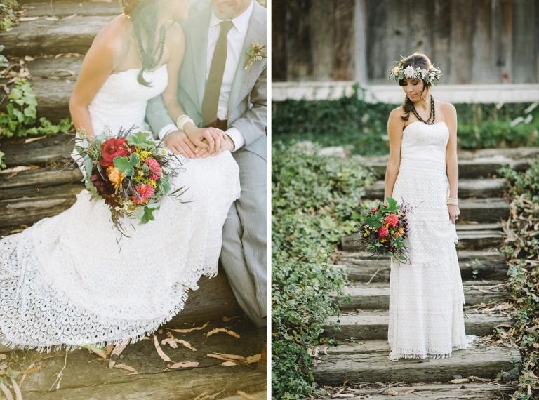Celia Grace Dress with Lori Boe Florals