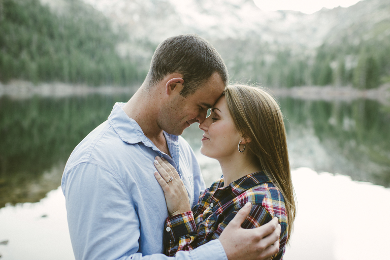 Sardine Lake Engagement Photography