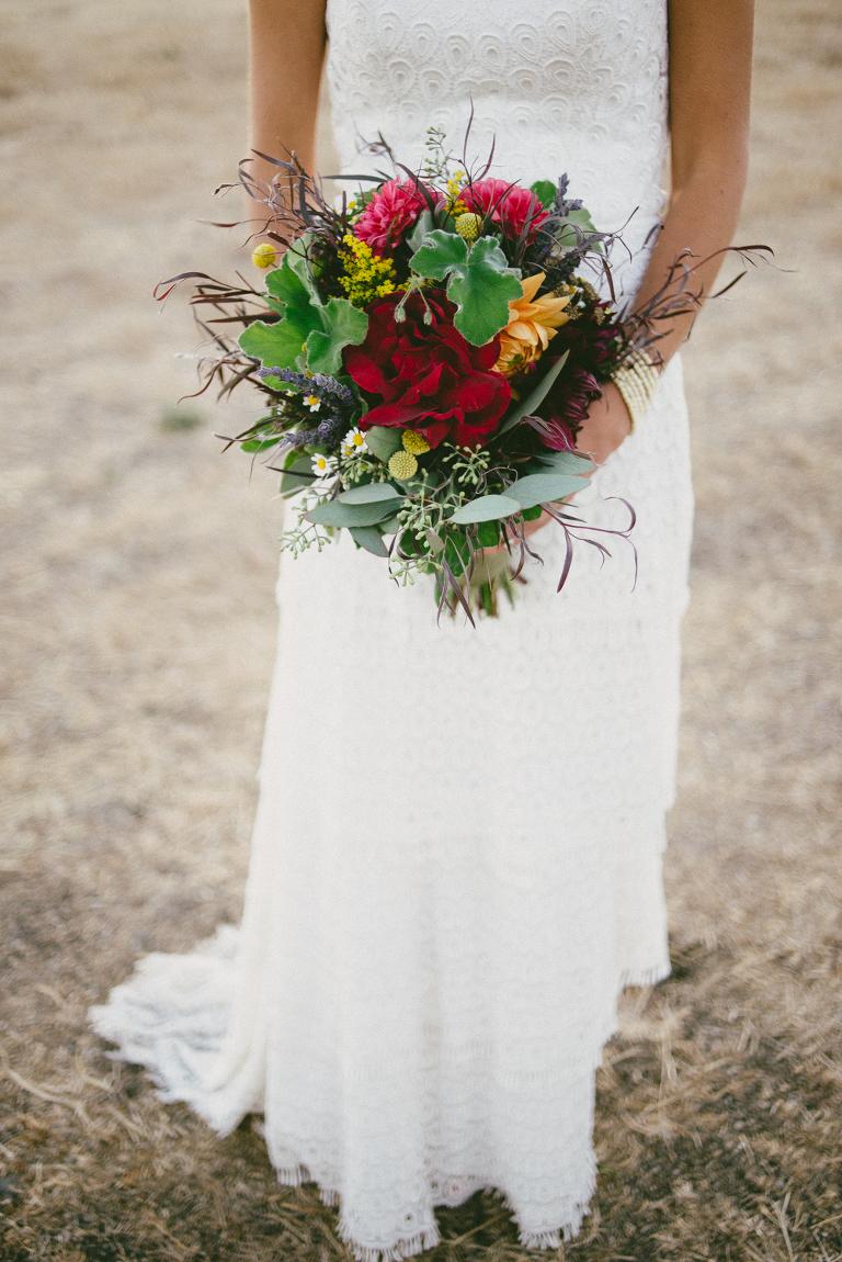 lori boe florals with celia grace dress