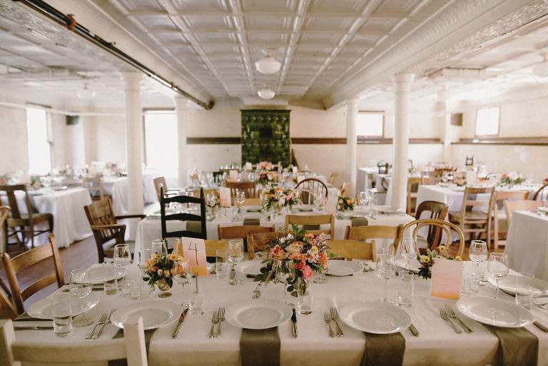 Marin Headlands Center for the Arts Wedding Set Up