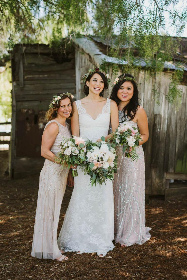 Small Wedding Party, Flying Caballos Ranch San Luis Obispo