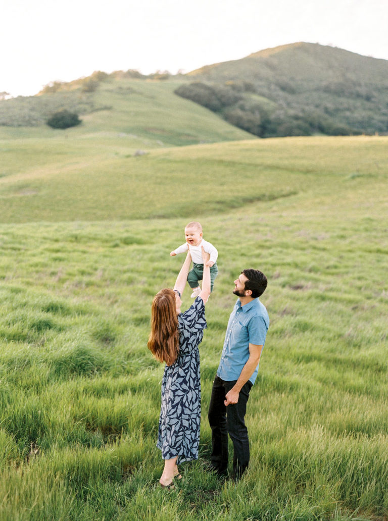 San Luis Obispo Spring Family Session