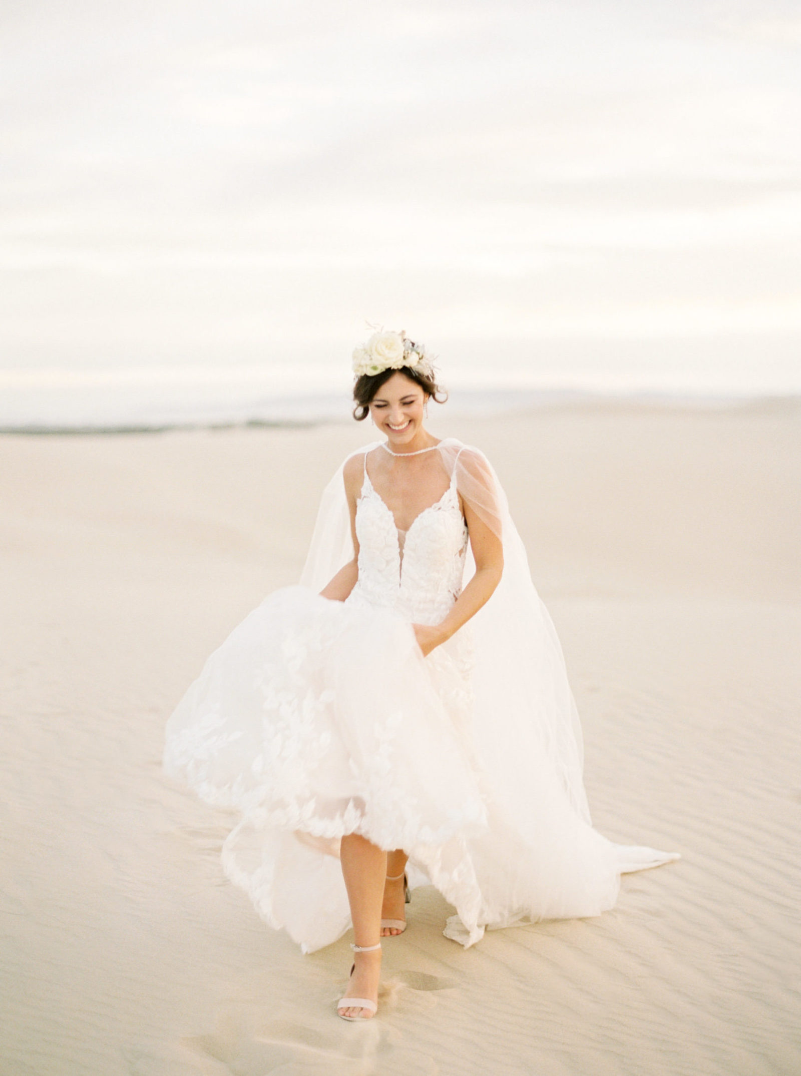 Film Bridal Photo in Dunes